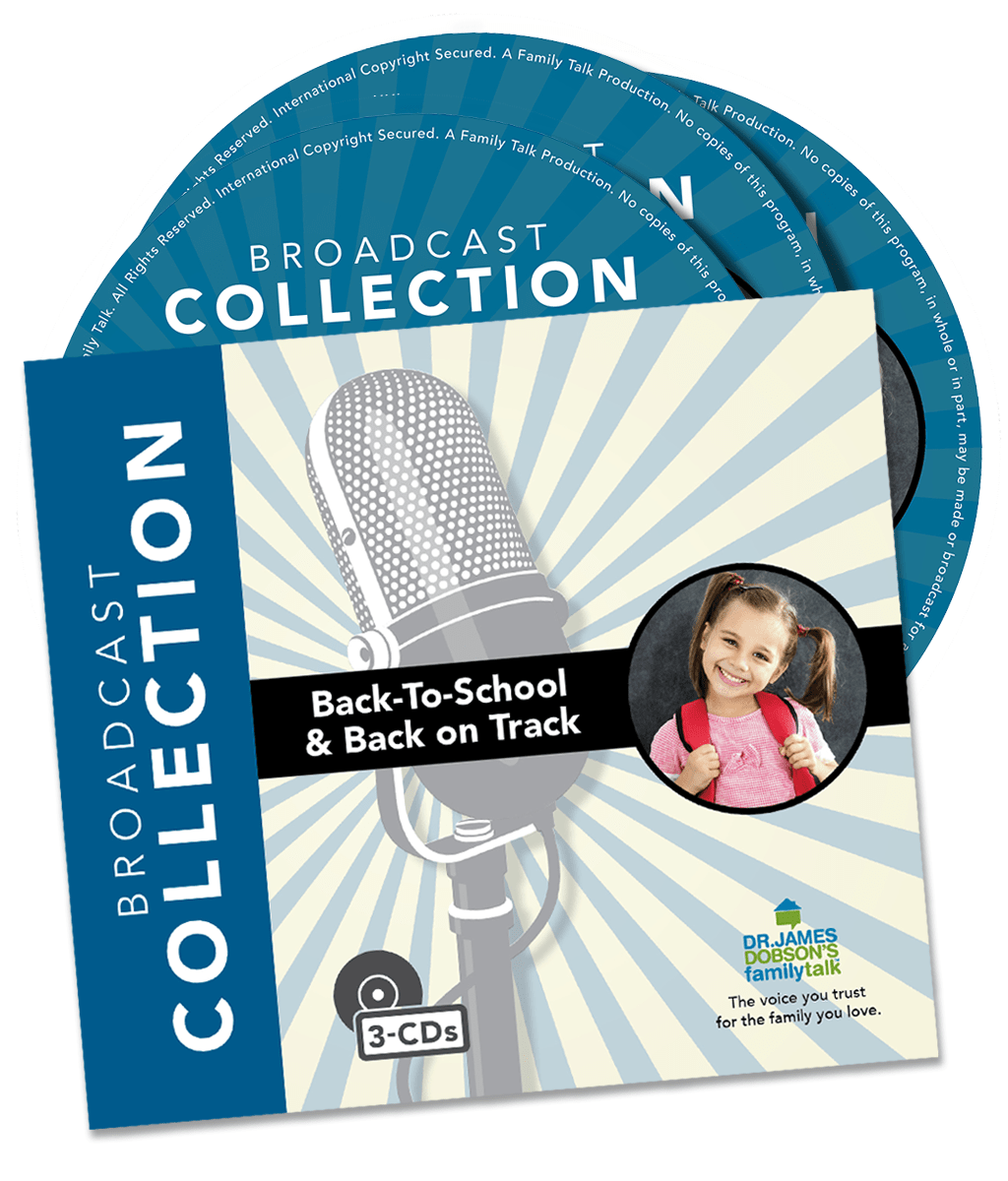 Back-to-School & Back on Track (3-CD Set) Product Photo