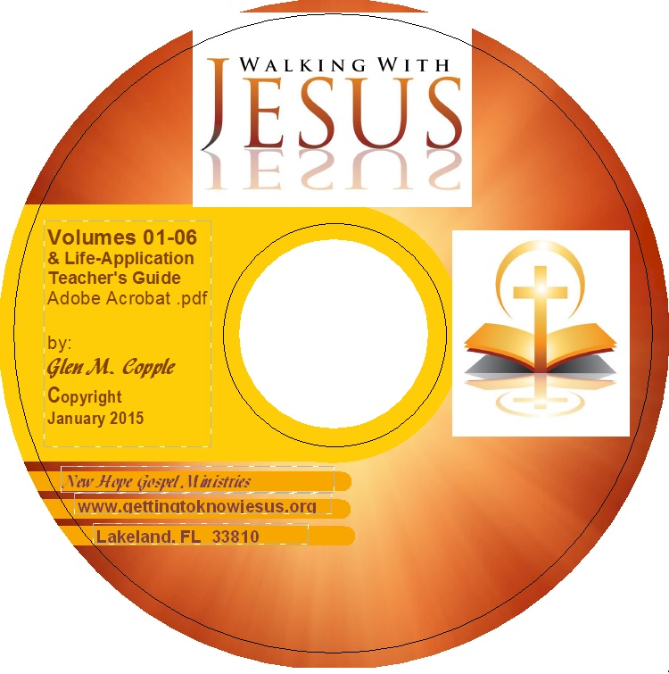Walking With Jesus - Vol 01-06 CD Product Photo